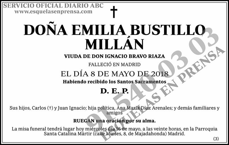 Emilia Bustillo Millán